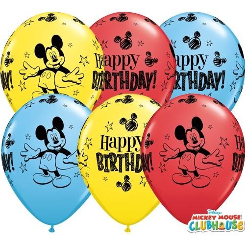Balon Mickey Mouse Bday