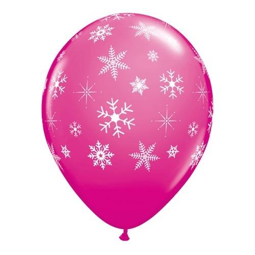 Balon wild berry Snowflakes...