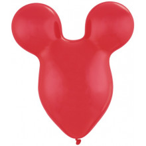 Balon Mousehead - rubin crvena