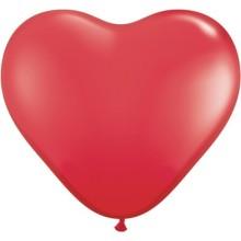 Balon srce 15 cm - crven