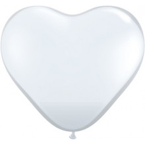 Balon srce 38 cm - proziren