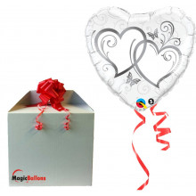 Entwined Hearts Silver -...