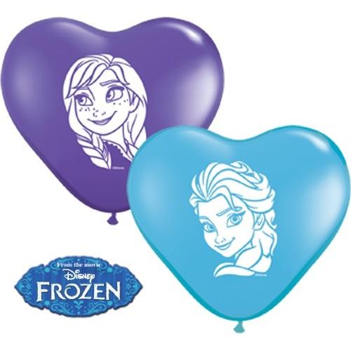 Balon srce Anna & Elsa