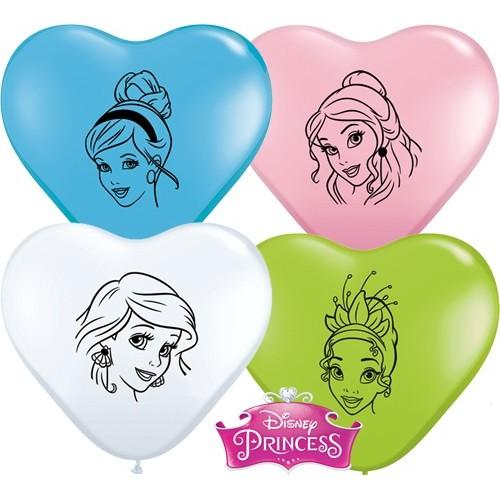 Balon srce Princess