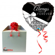 Always and Forever - folija balon u paketu
