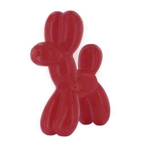 Figura pas - crvena