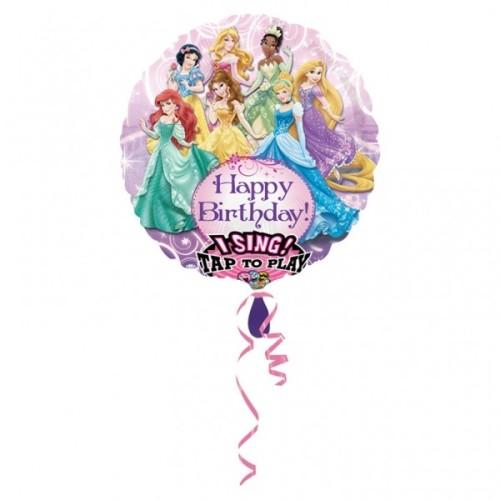 Princess - pjevajući folija balon u paketu