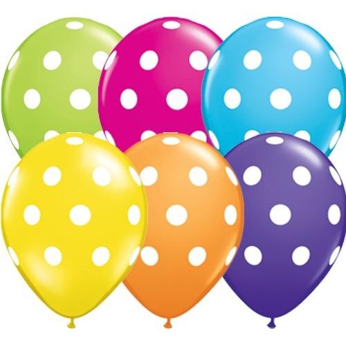 Balon Polka dot - tropical