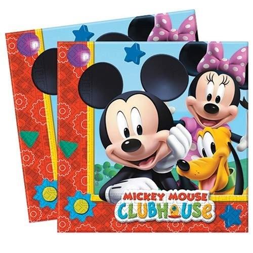 Playful Mickey salvete