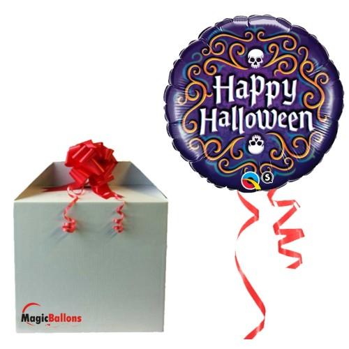 Halloween Skeleton Filigree - folija balon u paketu