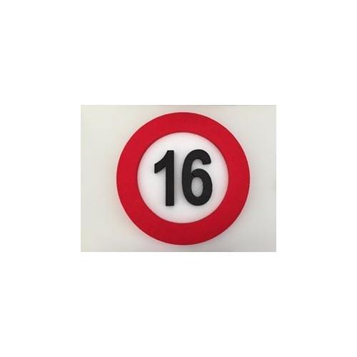 Prometni znak ukras 16