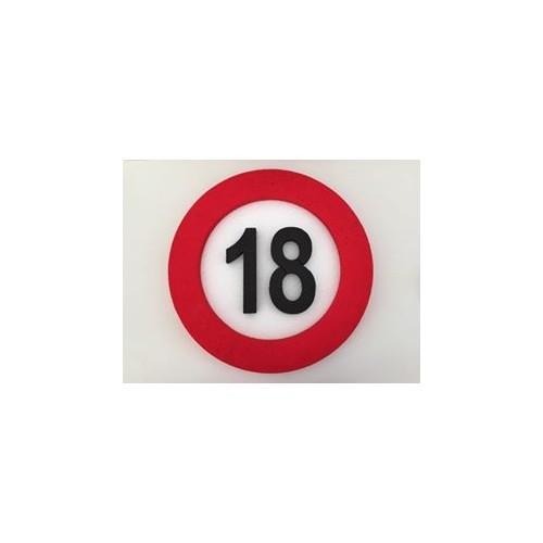Prometni znak ukras 18