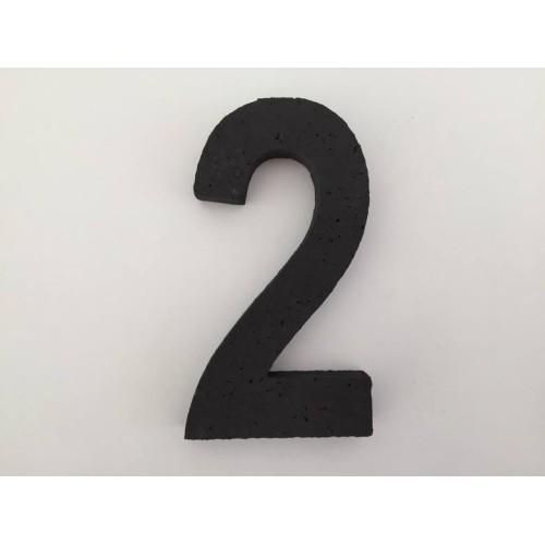 Broj 2 - crna