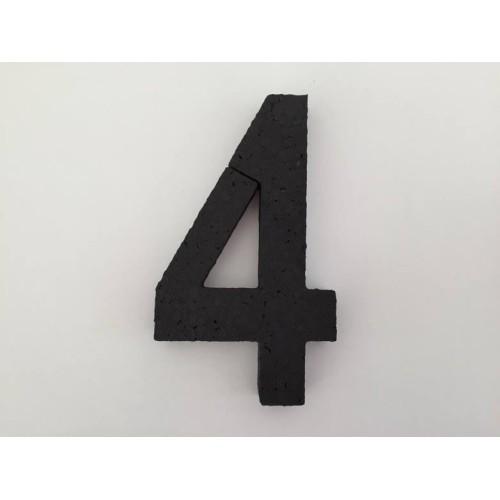 Broj 4 - crna