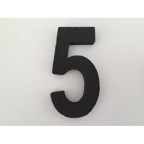 Broj 5 - crna