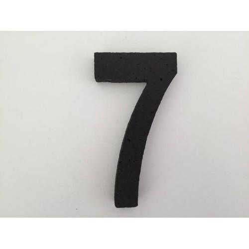 Broj 7 - crna