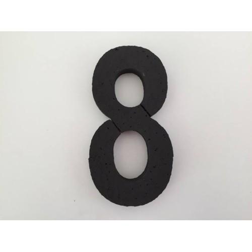 Broj 8 - crna