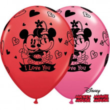 Balon Mickey & Minnie love