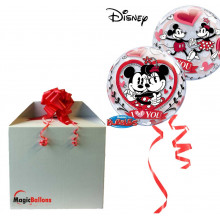 Mickey & Minnie I love you - b.balon u paketu