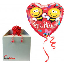 Be mine! - folija balon u paketu