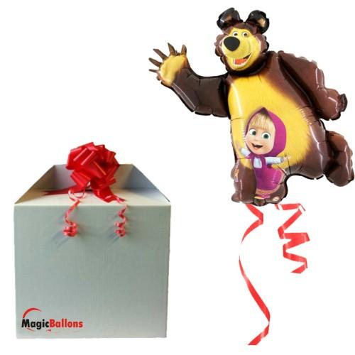 Maša i Medo - folija balon u paketu