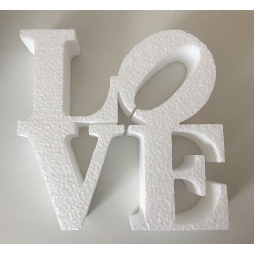 Ukras Love - bijela