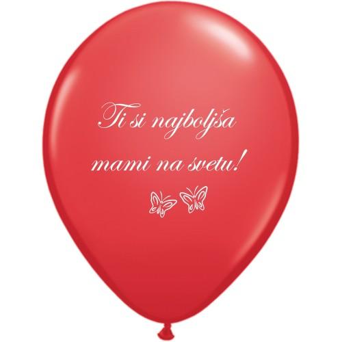 Balon Ti si najboljša mami