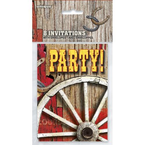 Rodeo Western pozivnice