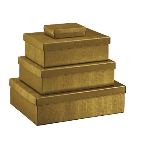 Poklon kutija - zlatna