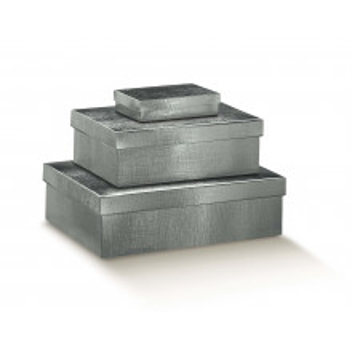 Poklon kutija - srebrna
