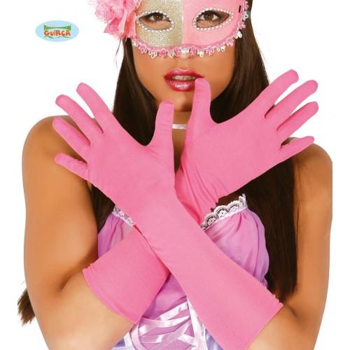 Pink rukavice