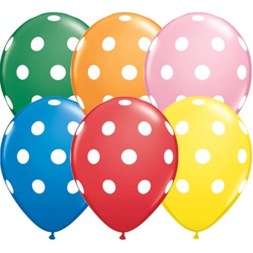 Balon Polka dot - standard