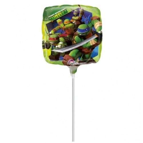 Teenage Mutant Ninja Turtles - folija balon na štapiću