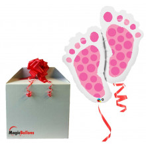 Baby Feet Pink -  folija...