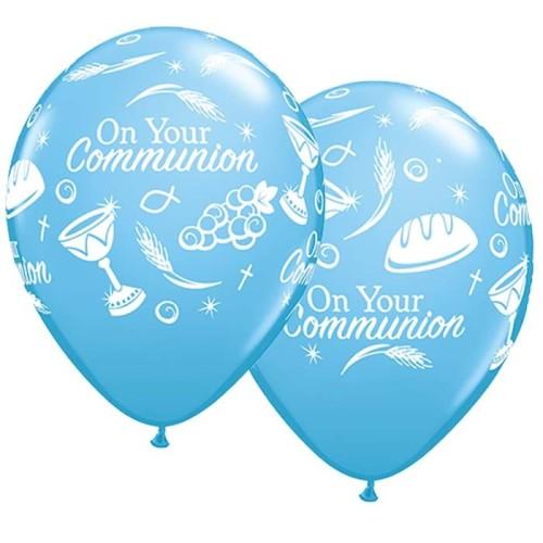 Balon Communion symbols - plava