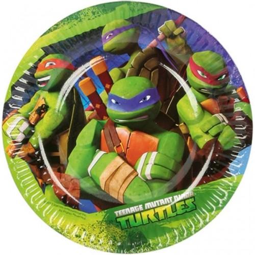 Ninja Turtles tanjuri 18 cm