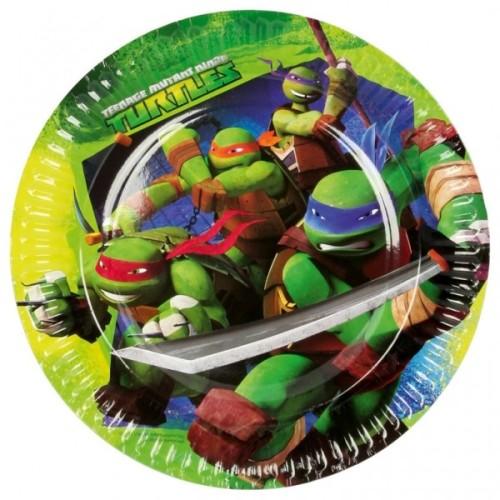 Ninja Turtles tanjuri 23 cm