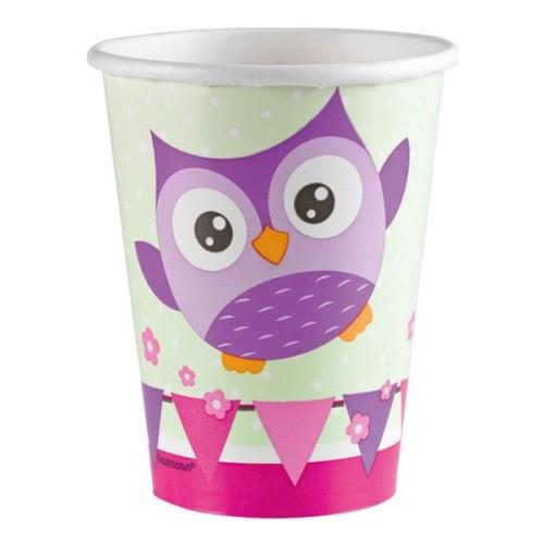 Happy Owl čaše