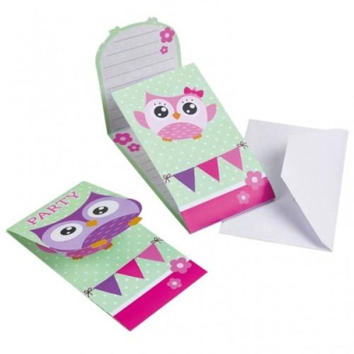 Happy Owl pozivnice