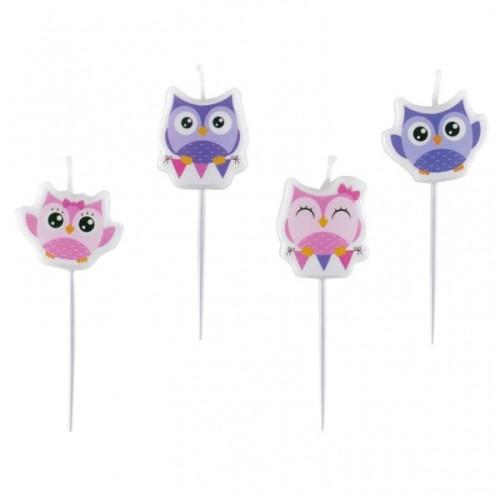 Happy Owl sviječice