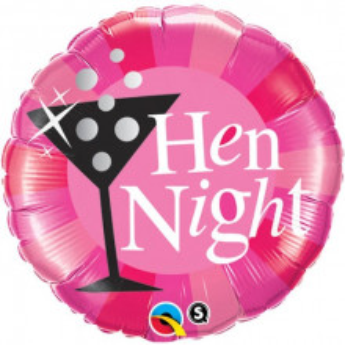 Hen Night Pink - folija balon