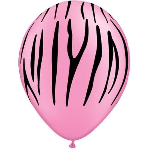 Balon Zebra stripes - neon...