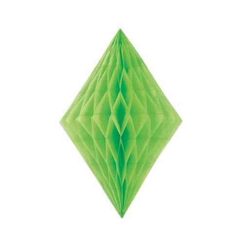 Diamantni ukras - svijetlo zelena