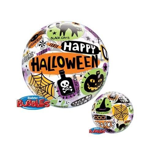 Halloween Messages & Icons - b.balon u paketu