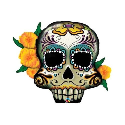 Day of the dead skulls - folija balon u paketu
