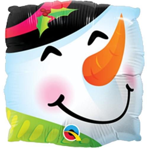 Snowman Fun Face - folija...