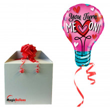 You turn me on! - folija balon u paketu