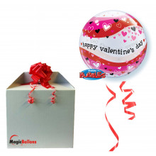 Valentine's Heart Waves - b.balon u paketu