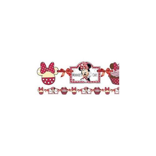 Minnie Mouse daisies napis