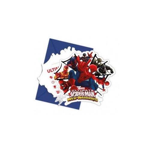 Spiderman Ultimate pozivnice